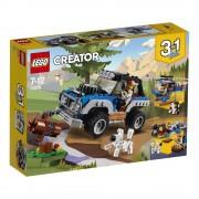 LEGO Creator 3 in 1, Masina de aventuri 31075