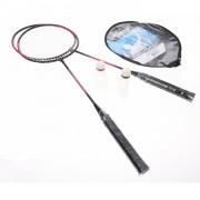 SportX Badmintonset Luxe Roze Zwart