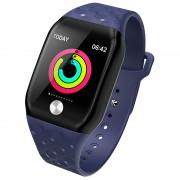B59 Fitness Tracker Smart Band Watch Bracelet Wristband Blood Pressure Heart Rate Monitoring - Blue