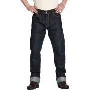 Rokker Iron Selvage Raw Jeans Blå 40