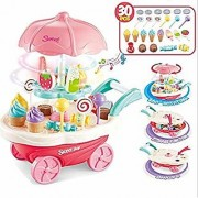 Ice Cream and Sweet Marketing Cart with Light and Sound 30 pcs