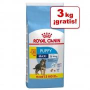 Royal Canin Size 18 kg en oferta: 15 + 3 kg ¡gratis! - Medium Puppy (Medium Junior) (15 + 3 kg gratis)