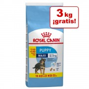 Royal Canin Size 18 kg en oferta: 15 + 3 kg ¡gratis! - Maxi Puppy (Maxi Junior) (15 + 3 kg gratis)