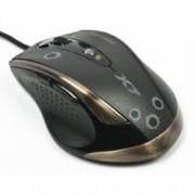 Мишка A4Tech V-Track F3, лазерна, 100 - 3000dpi, макроси, USB