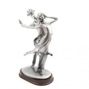 Decoratiune pentru interior - statueta cuplu dansatori 4