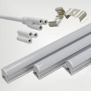 Silamp Tube néon LED 60cm T5 9W - couleur eclairage : Blanc Froid 6000K - 8000K