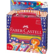 Set desen si pictura Jumbo FABER-CASTELL Grip Circus, FC201352