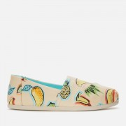 TOMS Women's Alpargata Vegan Slip-On Pumps - Cuba Fruit - UK 6