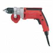 Milwaukee Corded Electric Drill - 1/2Inch Keyless Chuck, 8.0 Amp, 850 RPM, Model 0302-20
