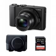 Panasonic Lumix DMC-LX15 Svart + Väska + Minneskort