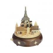 Spieldosen Erzgebirge Erzgebirgische Spieldose-Spieluhr Kurrende Seiffener Kirche