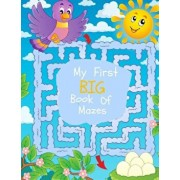 My First Big Book of Mazes: Maze Puzzles for Kids: Big Book of Mazes for Kids Ages 4-8, Paperback/Busy Hands Books