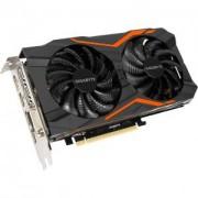 Видеокарта Gigabyte GeForce GTX 1050 Ti G1 Gaming 4GB, GDDR5, 128bit, Dual-link DVI-D, DP1.4, HDMI 2.0b, GA-VC-N105TG1 GAMING-4GD