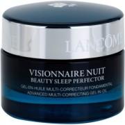 Lancôme Visionnaire crema multi-correctora de noche para hidratar y alisar la piel textura gel 50 ml