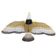 Eonkoo Cute Glow Eye Electric Eagle/hawk toy,High Quality Hanging Wire Eagles Music Singing Child's Toys