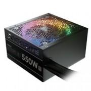 Захранване Gamdias ASTRAPE M1-550W, 550W, Active PFC, 80 Plus, 120mm вентилатор, RGB подсветка