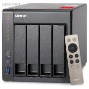 QNAP TS-451 TurboNAS 4-Bay 2.41GHz Quad Core Network Attached Drive