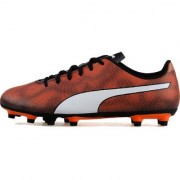 Puma Men's Orange Rapido FG Football Shoes