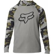FOX Subzcribe Hooded Longsleeve Grey XL