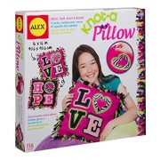 Alex Toys Craft Giant Knot and Stitch Pillow, Multi Color