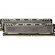 Модуль памяти Crucial Ballistix Sport DDR4 DIMM 2400MHz PC4-19200 CL16 - 32Gb KIT (2x16Gb) BLS2K16G4D240FSB