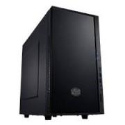 Cooler Master - SIL-352M-KKN1 - SIL-352M-KKN1 - Mini-Tower - Bay-uri interne 3.5 inch 2 - Bay-uri externe 3.5 inch 1 - Bay-uri externe 5.25 inch 1 - Ventilatoare incluse 2 x 120 mm - Placi baza compatibile microATX - Culoare Negru