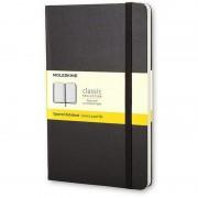 Moleskine MM712 Caderno 192 Folhas Quadriculadas Preto