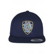 """Шапка с козирка в тъмносиньо NYPD Emblem Snapback """