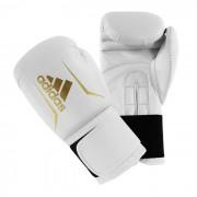 Adidas Senior Speed 50 Boxningshandskar Vit/Guld