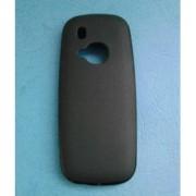 Силиконов калъф за Nokia 3310 2017 черен гръб