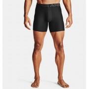 Under Armour Herenboxer UA Tech™ 15 cm Boxerjock® – 2 stuks - Mens - Black - Grootte: Small
