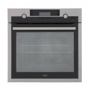 AEG BPS552020M Single Built In Electric Oven - Stainless Steel