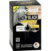 Vopsea pentru reimprospatarea/revigorarea culorii negre, Simplicol, 400 g
