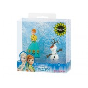 Set figurine Frozen Fever Anna+Olaf