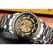 Men's Luxury Automatic Stainless Steel Watches - 2 Colours!