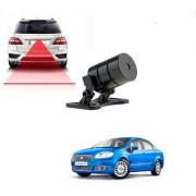Auto Addict Car Styling Anti Collision Safety Line Led Laser Fog Lamp Brake Lamp Running Tail Light-12V Cars For Fiat Linea Classic