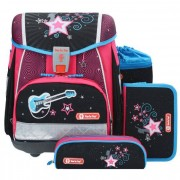 Step by Step Touch 2 Zaino scuola con accessorio set di 4pz. 38,5 cm POP STAR