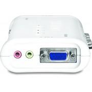 Trendnet TK-408K Blu switch per keyboard-video-mouse (kvm)