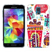 Husa Samsung Galaxy S5 Mini G800F Silicon Gel Tpu Model Craciun Christmas V1