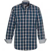 Skjorta OWENS mörkblå tailored fit