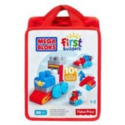 Jucarie Mega Bloks Build N Learn Zoomin Vehicles Bag