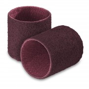 Lot de 2 bandes abrasives - nylon non-tissé - Granulation moyenne