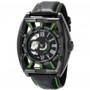 Stuhrling Original Mens 279335571 Xtreme Millennia Expo Analog Display Automatic Self Wind Black Watch