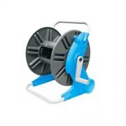 Tambur derulator pentru furtun gradina, Aquacraft Premium 990100, lungime maxima 45 m, cadru metalic Autolux