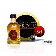 Botella miniatura whisky Cardhu