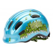 Abus Smiley 2.0 cykelhjälm - Str. 50-55 cm - Blå/grön