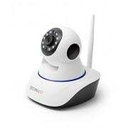Technaxx 4569 HD 720P TX-23+ Indoor IP-bewakingscamera met IR-nachtzicht, pan/tilt-bereik, bewegingsdetectie, luidspreker, Micro SD-kaartsleuf, wit