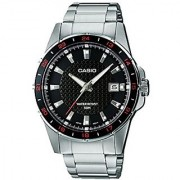 Casio Enticer Analog Black Dial Mens Watch - Mtp-1290D-1A1Vdf (A413)