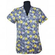Lotus - Bluza medicala imprimata, editie speciala de Halloween