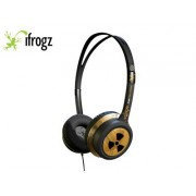 IFROGZ EAR POLLUTION TOXIX GOLD